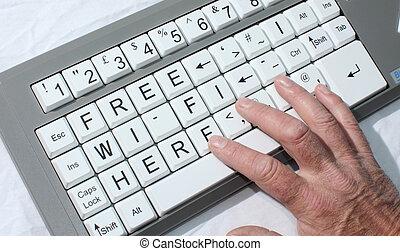 Free wi-fi - computer free wi-fi
