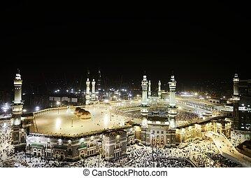 Makkah, Kaaba, santissimo, mesquita