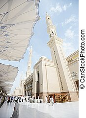 Islamic Holy Mosque at Madina - Islamic Holy Place