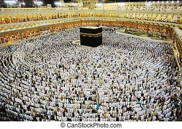 Musulmans,  kaaba,  hajj,  makkah