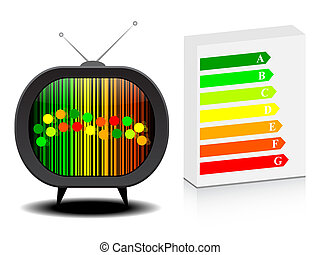 tv with energy classification