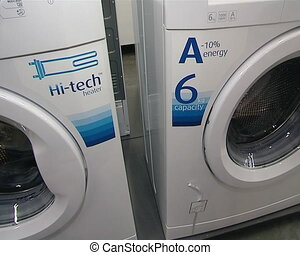wash machines technology