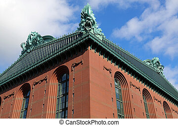 Chicago Public Library - Harold Washington Public Library in...