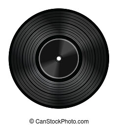 Vinyl audio disc