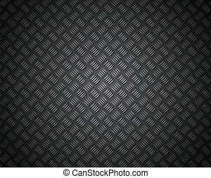 metal pattern texture grid carbon material isolated