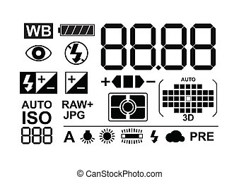 Photo symbols collection