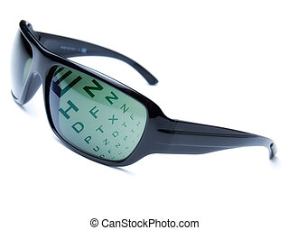Dioptric sunglasses - Modern dioptric sunglasses with...