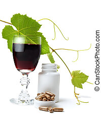 Resveratrol is a powerful antioxidant derived from grapes