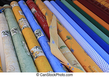 Provencal Fabric - Traditional Provencal patterns on rolls...