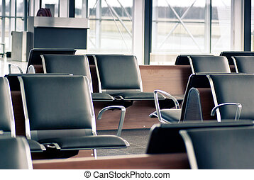 airport waiting lounge