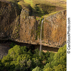 Phantom Falls in Late Afternoon