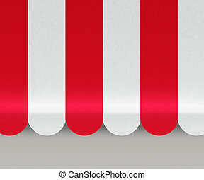 vermelho, Toldos, fundo