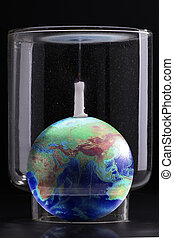 global warming effect - Carbon dioxide to make candles...