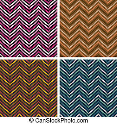 Herringbone Tweed Pattern - Dimensional seamless pattern in...