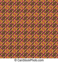 Tweed Texture in Orange - Seamless tweed texture pattern.