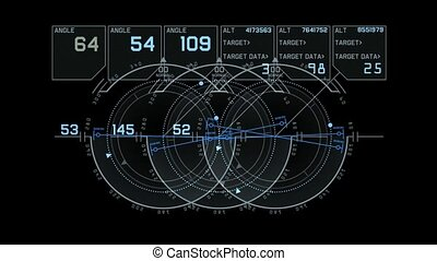 computer game interface,hi-tech software panel,aviation...