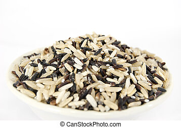 a gourmet blend of wild and whole grain brown rice
