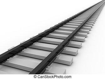 railroad concept - railtroad concrept