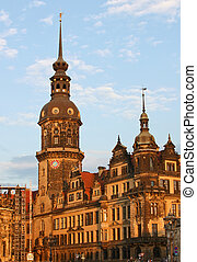Residenzschloss in Dresden,Saxony,Germany - One of Germany's...