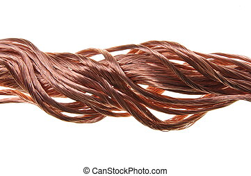 Copper wire power flow