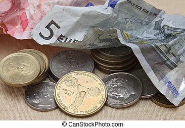 trashing,  Euro