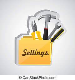 settings folder icon