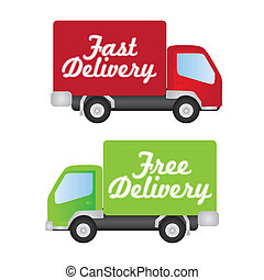 fast and free delivery - truck fast and free delivery,...