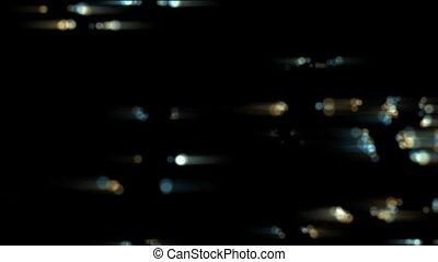 flash color dots & particles