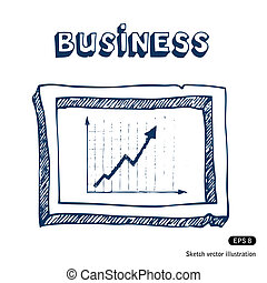Business graphic and frame
