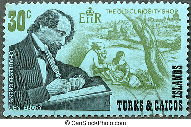 TURKS AND CAICOS ISLANDS - CIRCA 1970 : A stamp printed in...