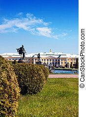 Peterhof Grand Palace in Saint-Petersburg