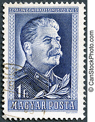 HUNGARY - CIRCA 1949: stamp printed by Hungary, shows Joseph...