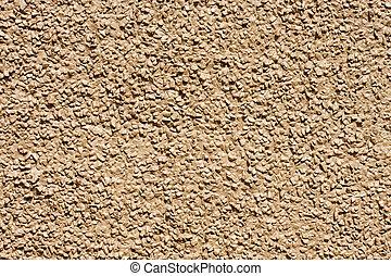 agregado, marrón, piedra, pared