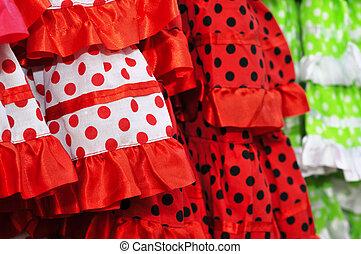Flamenco, vestidos