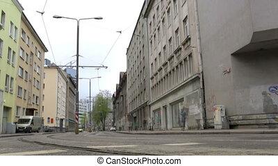 City TimeLapse. Tallinn, Estonia. - TALLINN - May 15:...