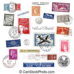 Postage stamps and labels of France - Postage stamps and...