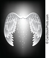 angyal, Szárny