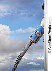 pump for natural gas - handle on pump for natural gas at...
