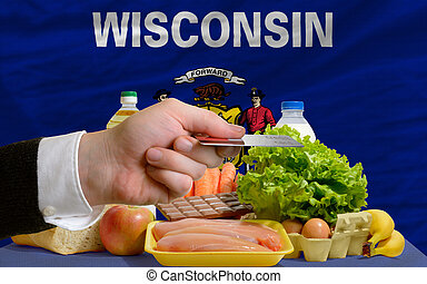 buying groceries with credit card in us state of wisconsin -...