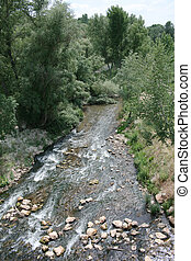 River Henares near from Guadalajara (Spain)