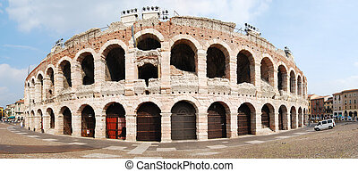 verona amphitheater - great ancient Roman venue in Verona,...