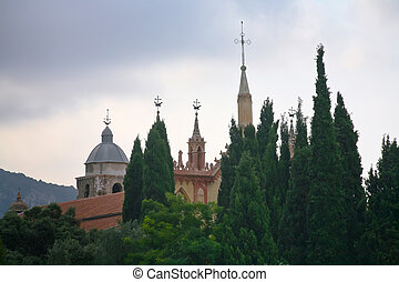 Monastere de Cimiez in Nice, France - view on Monastere de...