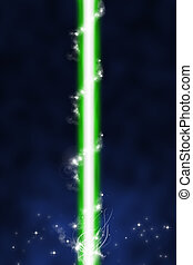laser beam and blue back ground - blue abstract background,...