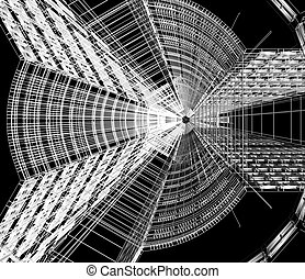 Abstract architectural