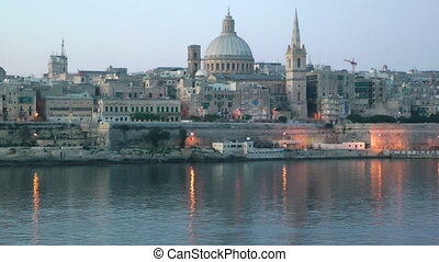 Valletta, Malta - The capital city of Malta