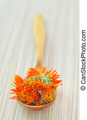 marigold herbal tea