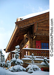 Nice chalet detail