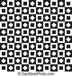 Seamless background chess table style squares on squares