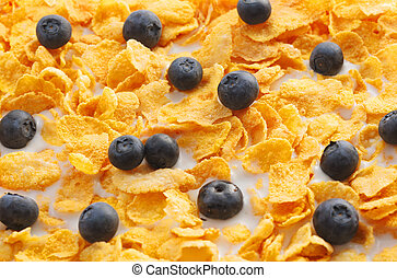 Black currents in cereal - Black currents and breakfast...