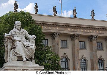 Humboldt-University in Berlin; Hauptstadt, Deutschland;...